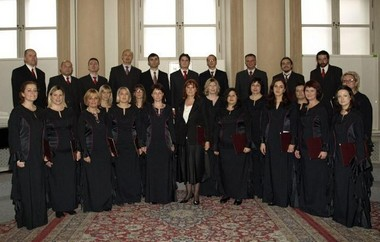 Vokalni ansambl Milka Trnina u Bratislavi 2008.